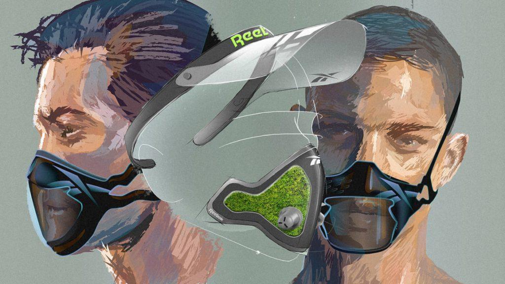 Reebok mask